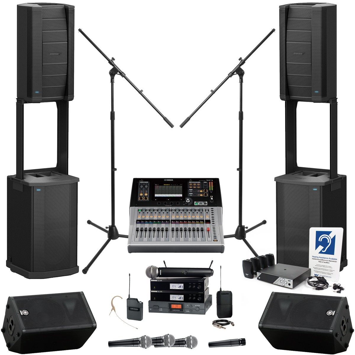 bose f1 model 812 church sound system. Black Bedroom Furniture Sets. Home Design Ideas
