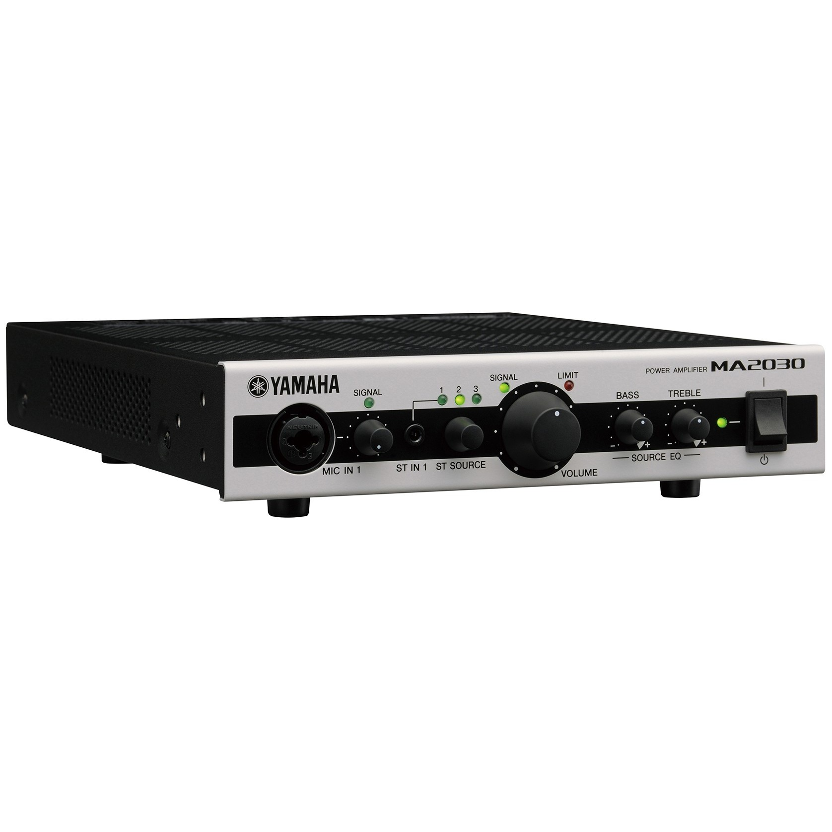 Yamaha ma2030 2 channel compact mixer amplifier 70v 100v 4 for Yamaha power amp mixer