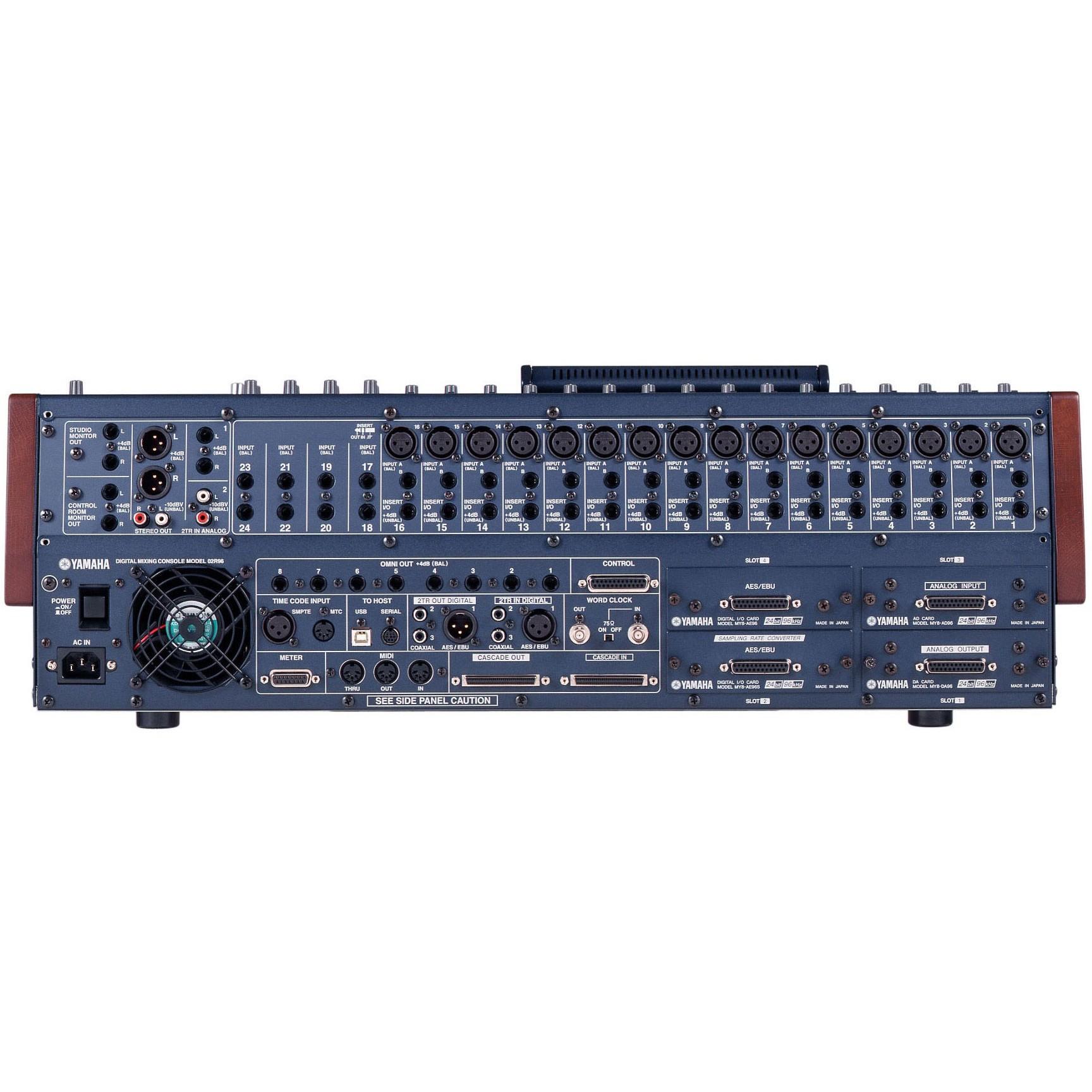 Yamaha 02r96vcm digital mixing console for Yamaha digital console