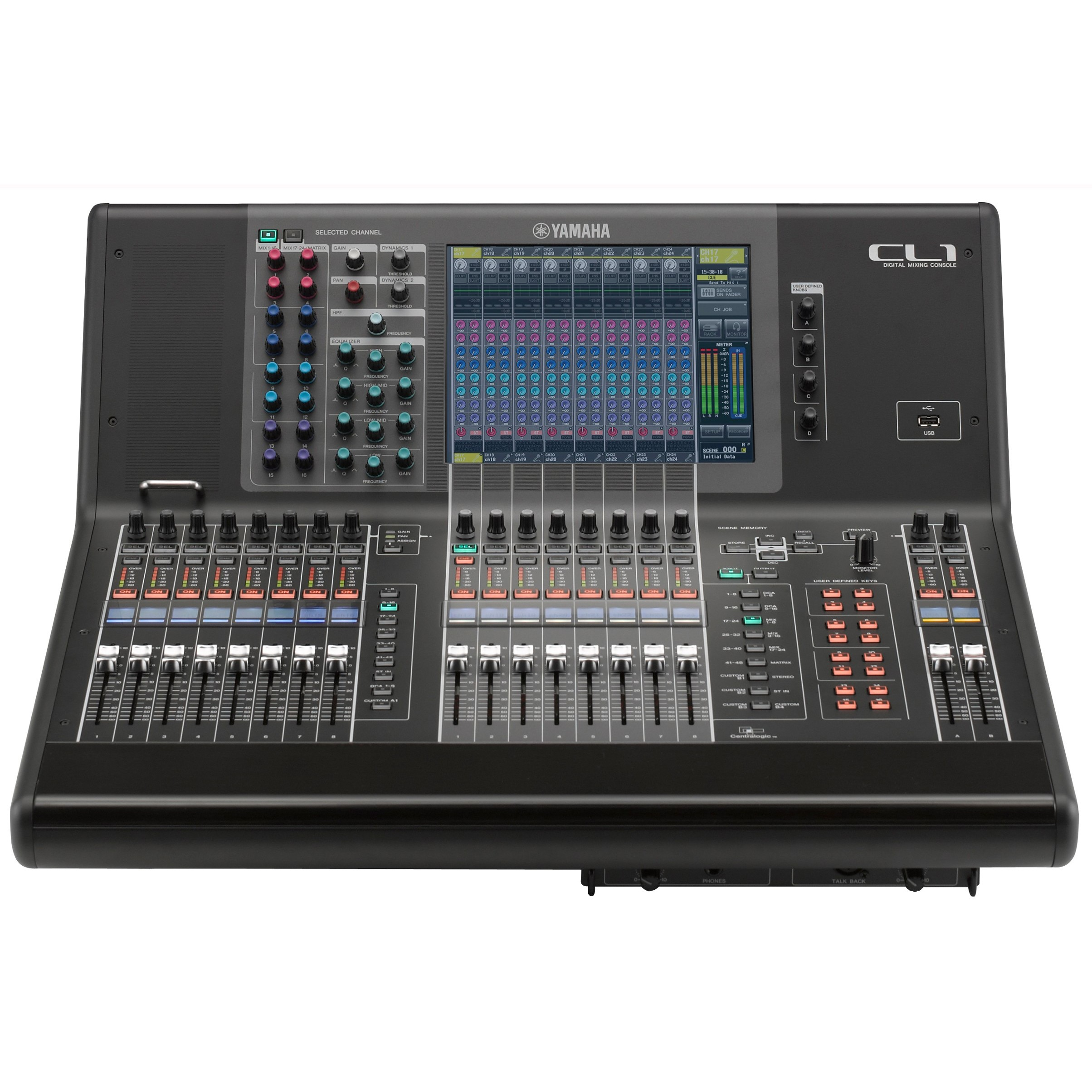 Yamaha cl1 digital mixing console for Yamaha live console