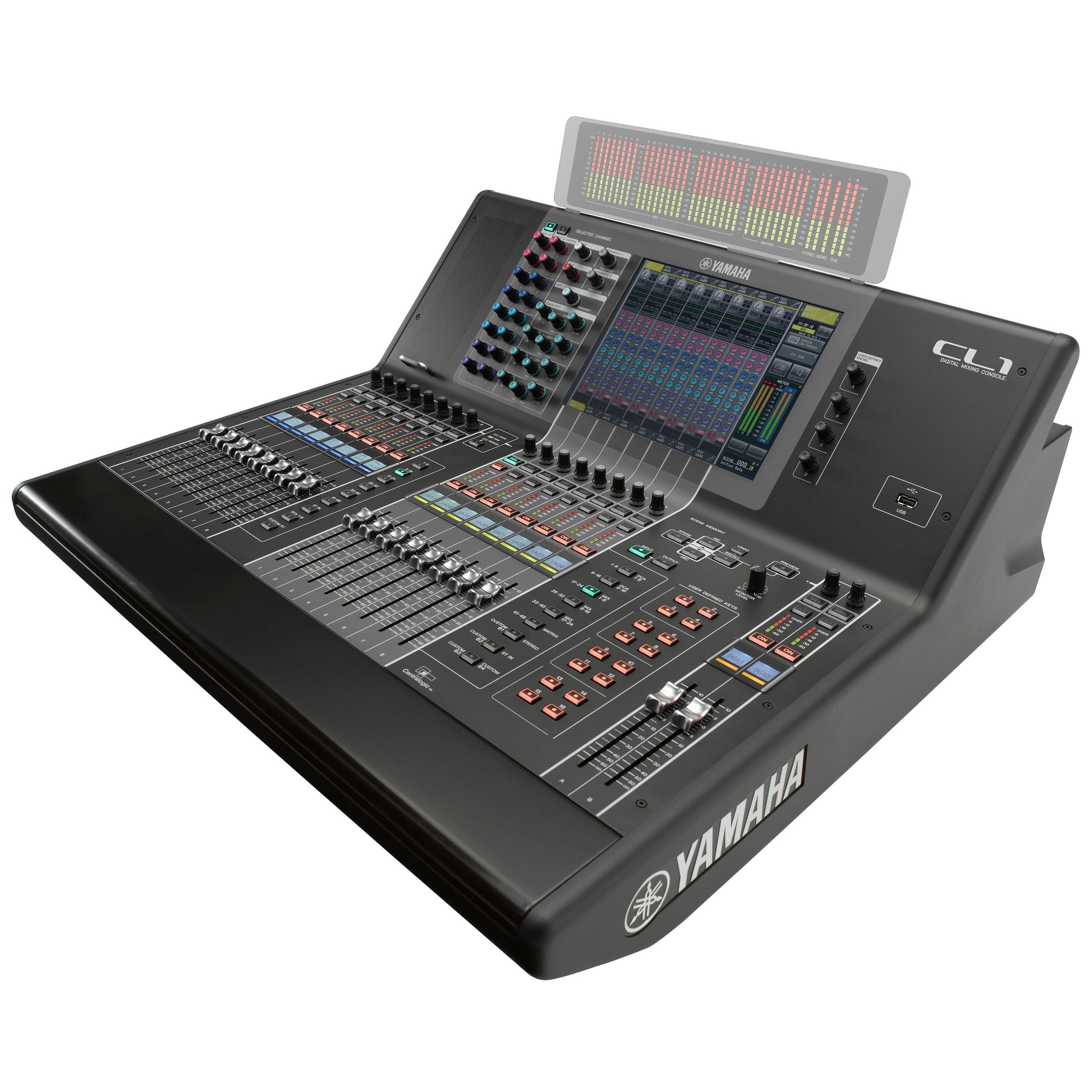 yamaha cl1 digital mixing console. Black Bedroom Furniture Sets. Home Design Ideas