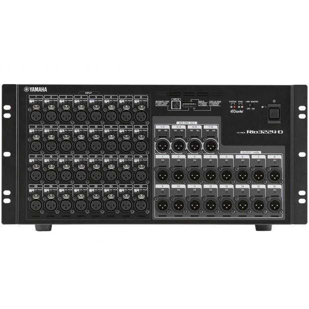 Yamaha Rio3224-D Dante-compatible I/O Rack