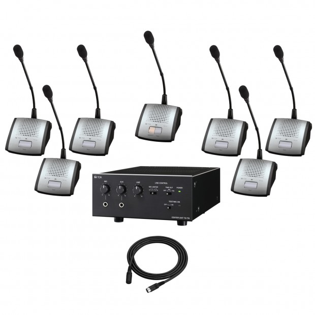 TOA TS-770 Series 7 Person Conference System
