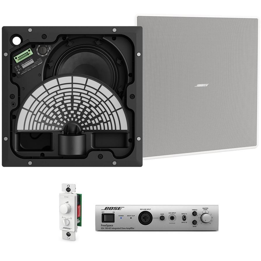 Small Restaurant Sound System With 2 Bose Edgemax Em180