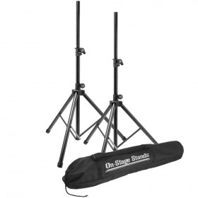 On-Stage Stands SSP7900 All-Aluminum Speaker Stand Pak with Bag
