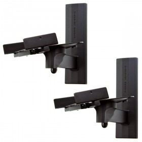 PinPoint AM-41 Side Clamping Bookshelf Speaker Wall Mounts (Pair)