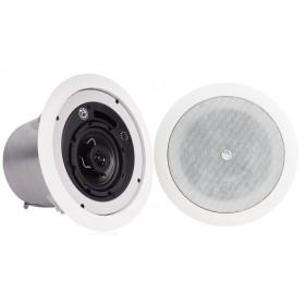 Atlas Sound FAP42T Strategy II Series 4 inch Coaxial In-Ceiling Loudspeaker - Pair