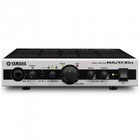 Yamaha MA2030a 2 Channel Compact Mixer Amplifier 70V/100V/4 Ohm/8 Ohm with DSP
