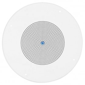 """Atlas Sound SD72W 8"""" Dual Cone In-Ceiling Loudspeaker with 25V/70V 5W Transformer and 62-8 Baffle"""