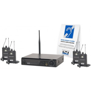 Anchor Audio AL-9000 Assistive Listening Package