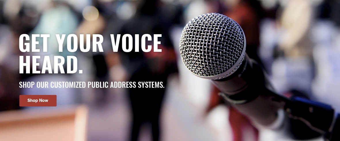 Public Address Sound Systems