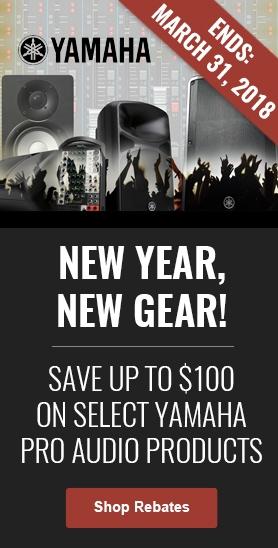 Yamaha New Year New Gear Rebate
