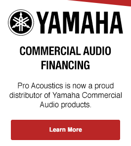 Yamaha Gymnasium Surround Sound System