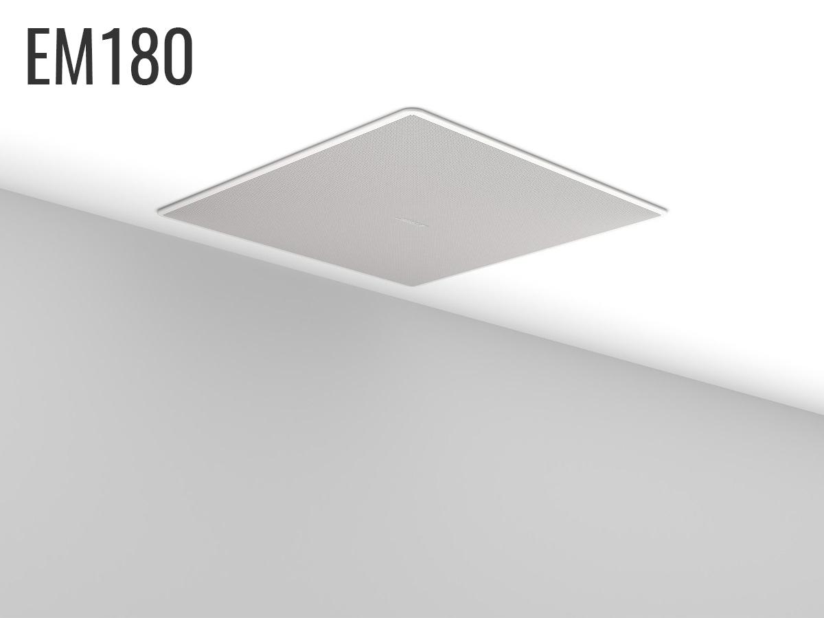 Bose EdgeMax EM180 In-Ceiling Loudspeaker 180 Degree Coverage 8Ω or 70/100V