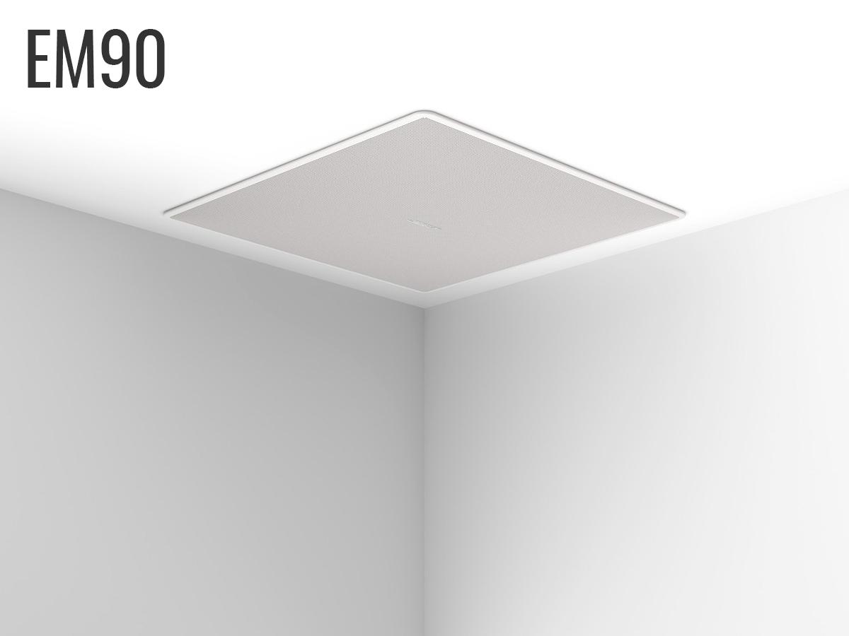 Bose EdgeMax EM90 In-Ceiling Loudspeaker 90 Degree Coverage 8Ω or 70/100V