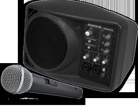 Mackie SRM150 PA System
